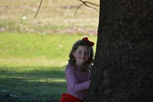 Girl and the tree photography sydney