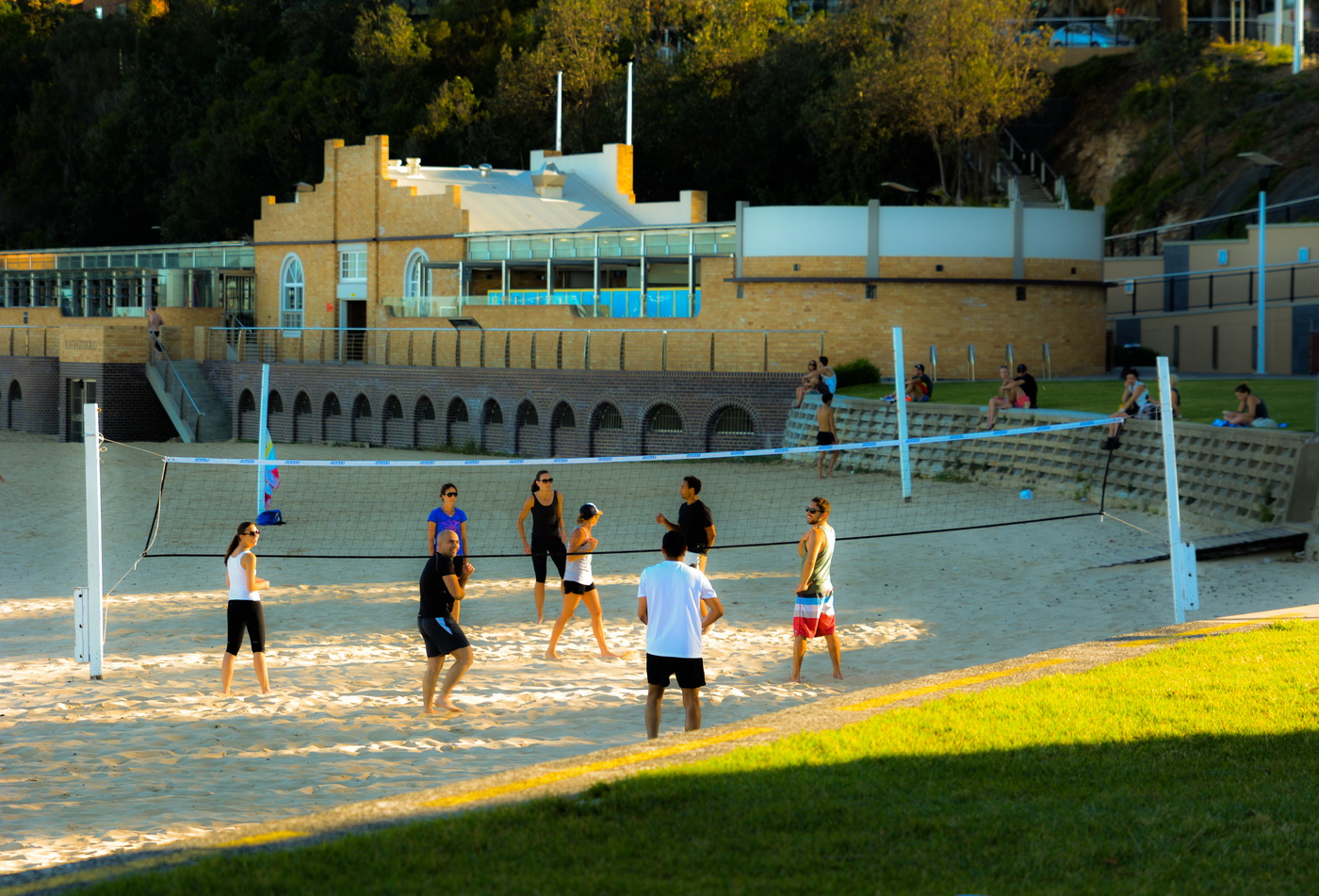 Volleyball In North Wollongong